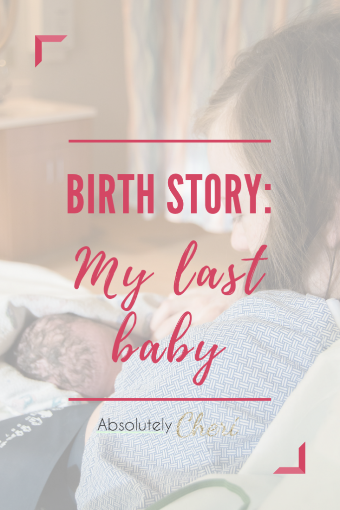 My last baby's birth was just as dramatic as my first, but it was quite a bit more scary and emotional. He stopped growing around 35 weeks and had to be induced three weeks later. I will never forget how relieved I was to finally have him in my arms. #birthstory #secondbaby #inducedearly
