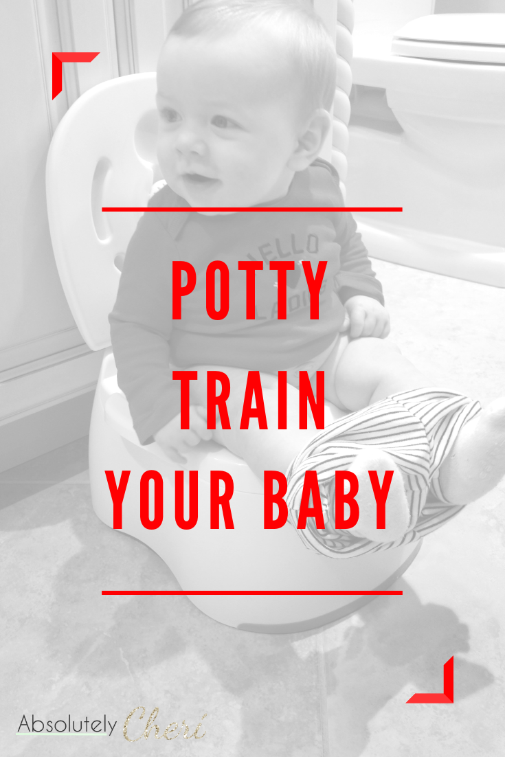 My son was potty trained well before his first birthday and completely diaper free by 18 months. You can do it too! It\'s way easier than you think!  #pottytraining #earlypottytraining #eliminationcommunication