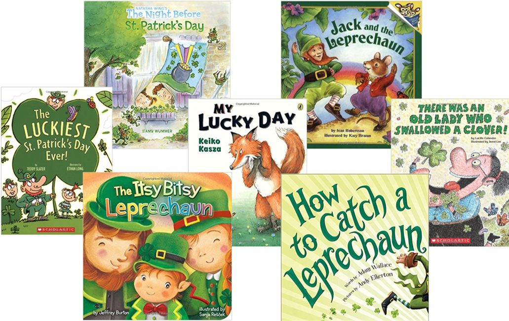 St Patrick's Day Books For Preschoolers & Toddlers