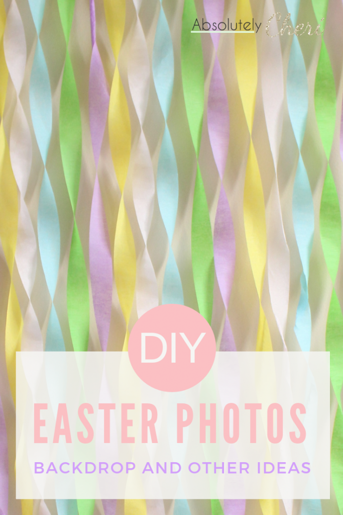 easter photo backdrop