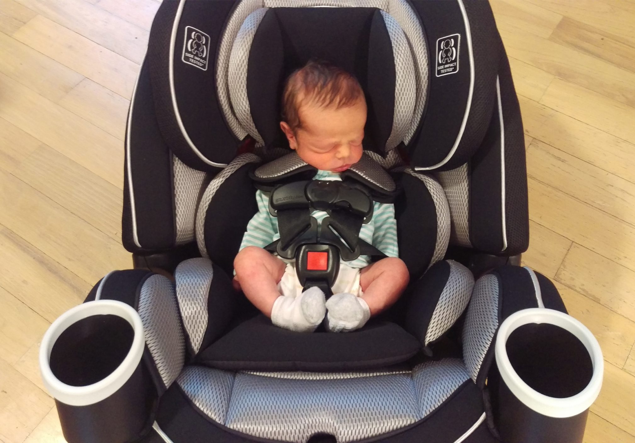 Using Convertible Car Seat for a Newborn