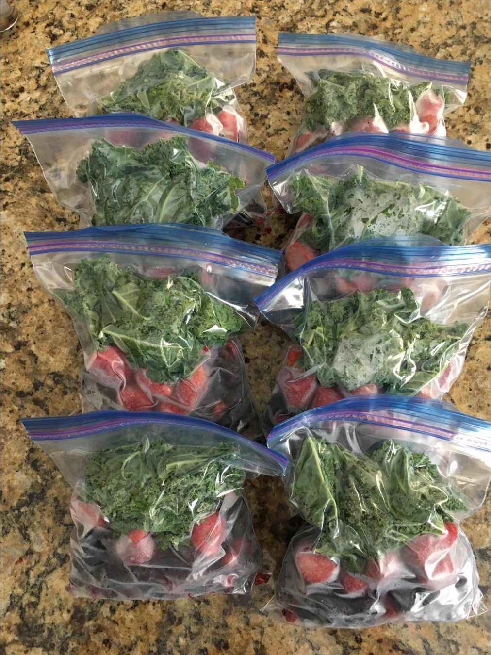 Make Ahead Freezer Smoothie Bags