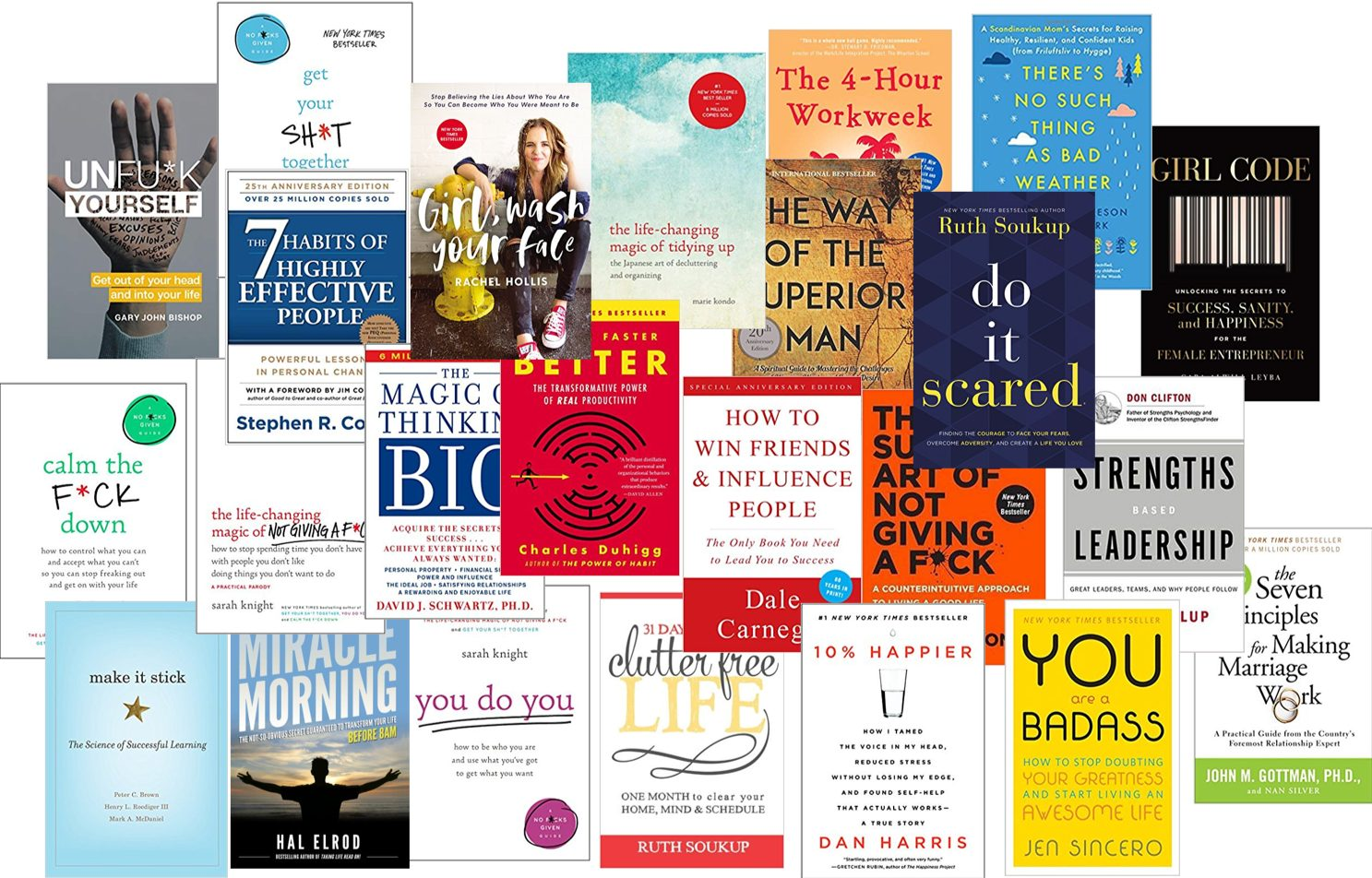 My Favorite Personal Development Books