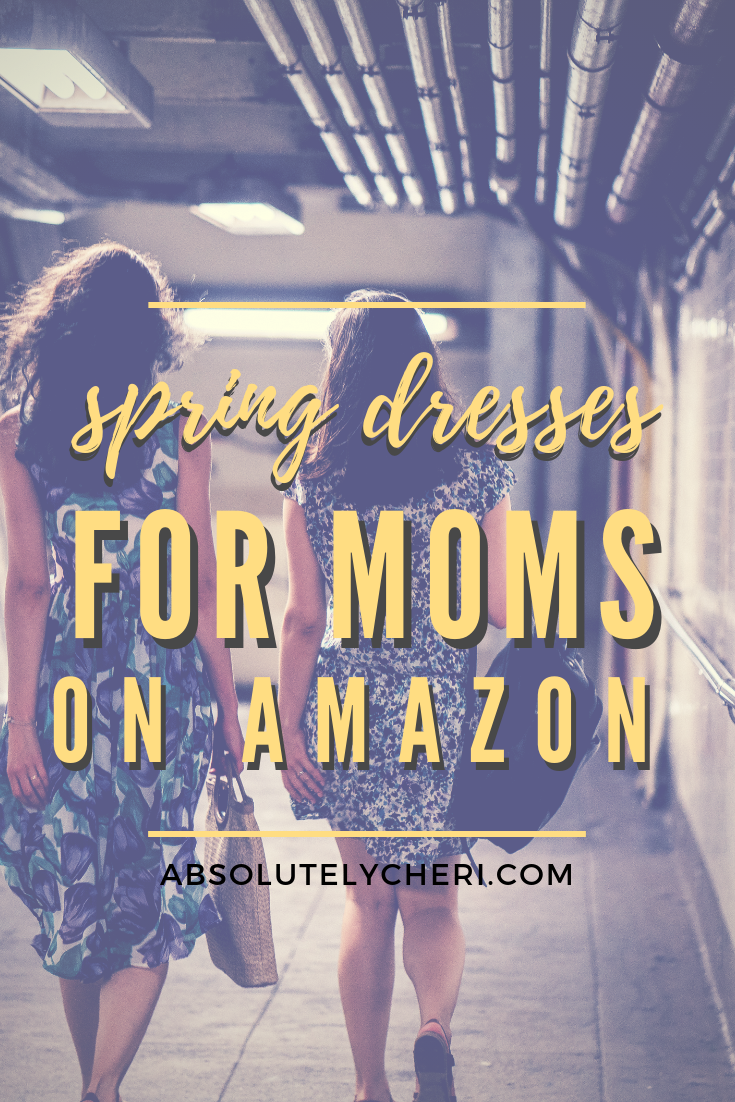 My boys turn 5 and 3 this summer. It\'s not getting any easier to take them shopping with me, especially to buy clothes for myself. This season I\'m turning to Amazon to buy some cute new dresses to wear this summer! #momstyle #momfasion #clothesformom