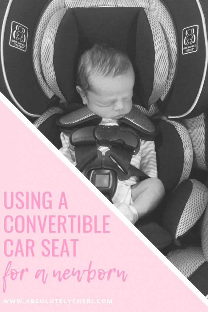 convertible carseat for newborn pin